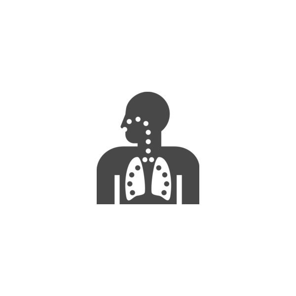 "Badge icon ""Lungs (649)"" provided by Jack Biesek, Gladys Brenner, Margaret Faye, Healther Merrifield, Kate Keating, Wendy Olmstead, Todd Pierce, Jamie Cowgill & Jim Bolek, from The Noun Project under The symbol is published under a Public Domain Mark"