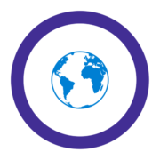 "Badge icon ""Earth (1071)"" provided by Francesco Paleari, from The Noun Project under Creative Commons - Attribution (CC BY 3.0)"