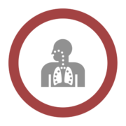 """Badge icon """"Lungs (649)"""" provided by Jack Biesek, Gladys Brenner, Margaret Faye, Healther Merrifield, Kate Keating, Wendy Olmstead, Todd Pierce, Jamie Cowgill & Jim Bolek, from The Noun Project under The symbol is published under a Public Domain Mark"""