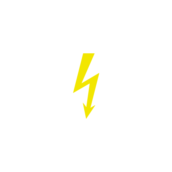 "Badge icon ""High Voltage (237)"" provided by The Noun Project under The symbol is published under a Public Domain Mark"