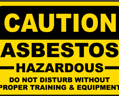 Asbestos Exposure Warning