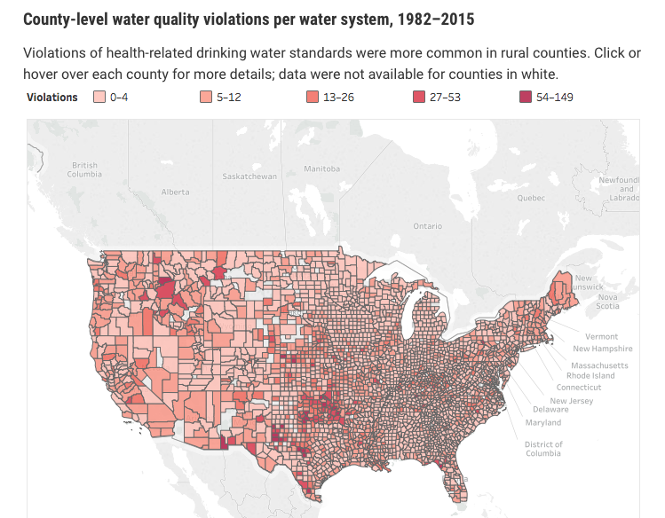 Water Quality by County