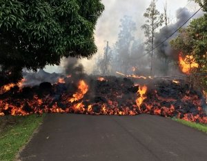 Mount Kilauea Hawaii eruption