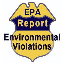 Environmental Violations Report