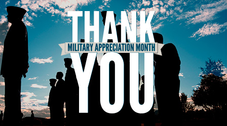 Military Appreciation Month